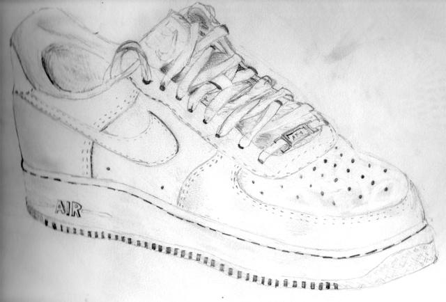 promo code 7131f b9b2b nike air force 1 drawing